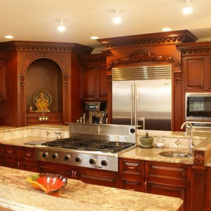10 Latest kitchen Pooja Room Designs With Pictures | Styles At Li