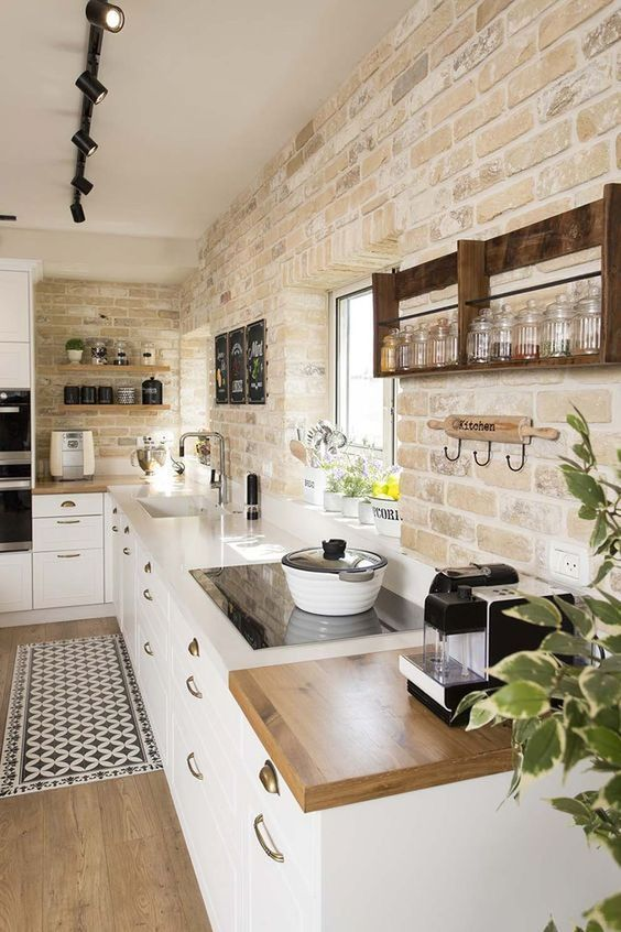 12 Simple Brick Kitchen Wall Tiles Inspiration For Some Cool Looks .