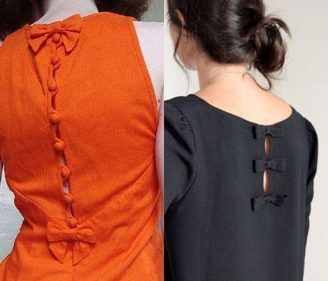 15 Stylish Back Neck Designs for Kurtis | Kurti neck designs .