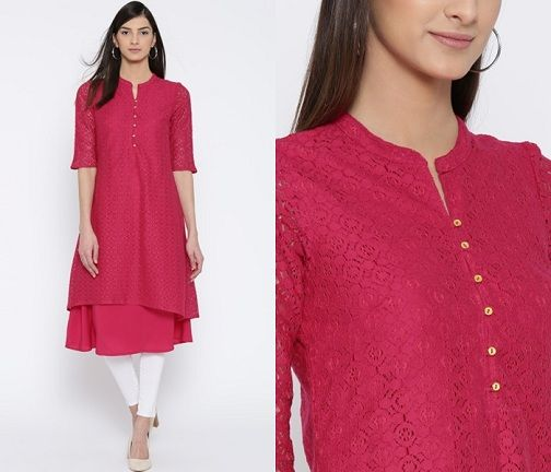 25 New Collection of Kurti Neck Designs For Women in 2020 (With .