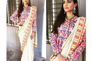 kutch-saree-blouse • Keep Me Styli