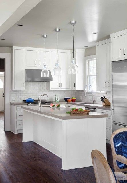 19 Elegant L-Shaped Kitchen Design Ideas (With images) | Small .