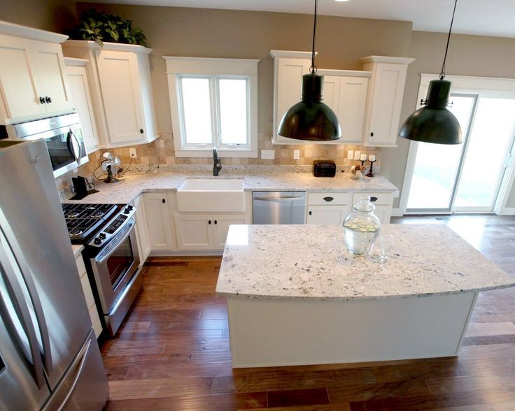 How to Design Home Kitchens (With images) | Kitchen remodel layout .