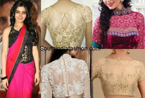 Beautiful Designs Of Lace Blouses That Are Worth Trying Ou
