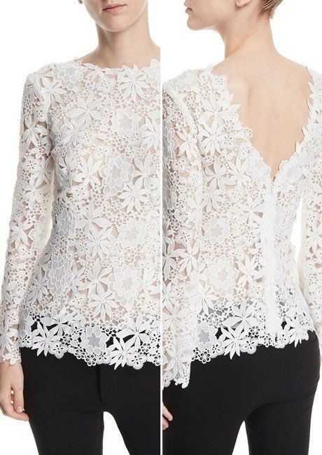 40 Most Lovely Women's Designer Lace Tops in 2018 (con imágenes .