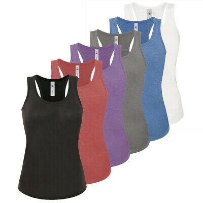 Womens Ladies Vest Cami Sleeveless Top T-shirt Base Layer Tank .