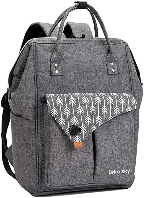 Amazon.com: Lekesky Laptop Backpack 15.6 Inch Stylish Women .