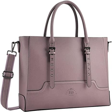 Amazon.com: Laptop Bag for Women, 15.6 17 Inch Laptop Tote Multi .