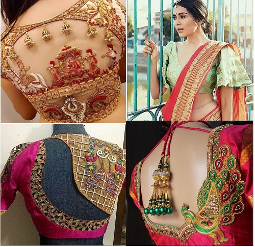 85 Latest Blouse Designs for Sarees: Images and Catalogue (202