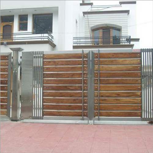 Hand Sliding Gates | House gate design, Front gate design, House .