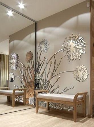 Best 45 modern wall mirror design ideas for hallway decor 20