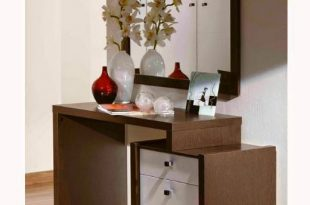 Latest luxury dressing table designs with mirror for bedroom .