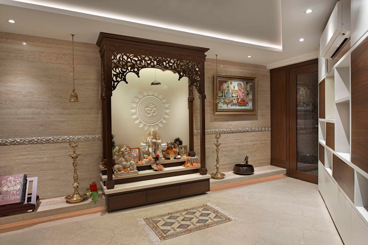 10 simple ideas for beautiful pooja rooms in Indian homes | homify .