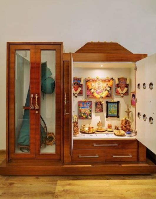 25 Latest Pooja Room Designs With Pictures In 2020 | Pooja room .