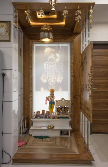 Latest Pooja Room Designs for Indian Homes - Home Makeover (With .