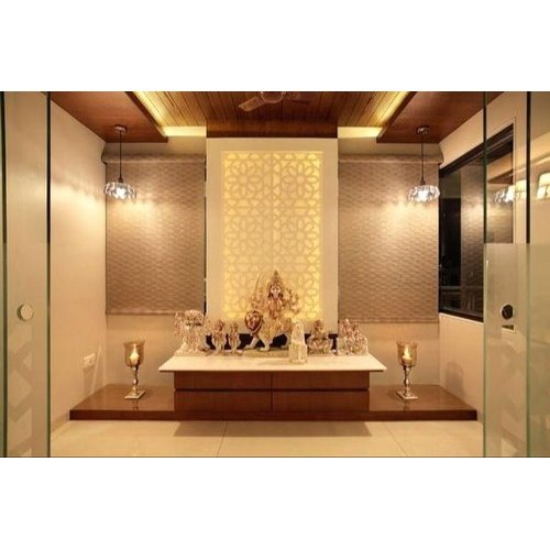 Pooja Room Designing Service at Rs 1200/square feet | bedroom .