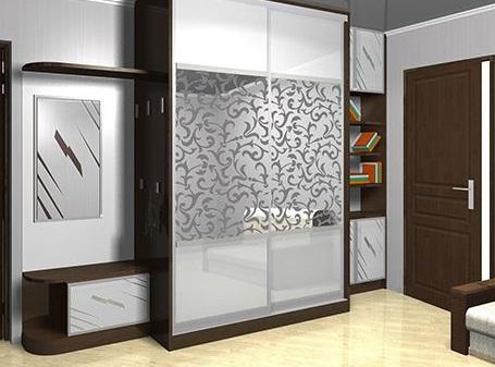 Modern bedroom cupboard design ideas - wooden wardrobe interior .