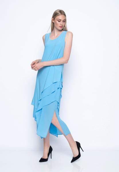 Chiffon Combo Layered Dress - PICADDILY CANADA – Picadilly Cana