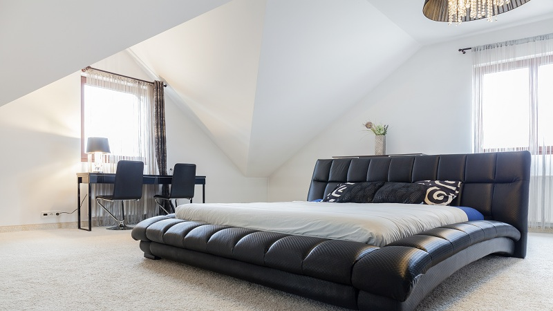 10 Latest Leather Bed Designs With Images In 2020   Styles At Li