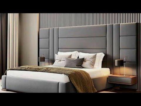 Latest Leather bed designs   2020   INTERIOR DESIGNS   - YouTu