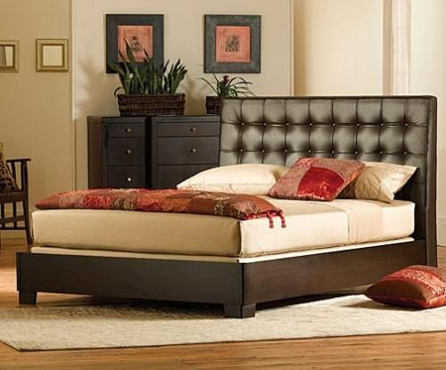 leather beds and headboards   Bed Headboards   Leather Bed .