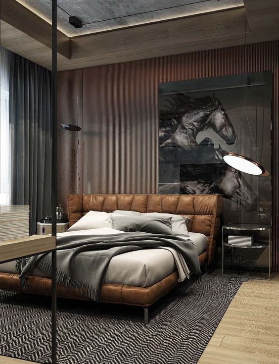35 Masculine Bedroom Furniture Ideas That Inspire (With images .