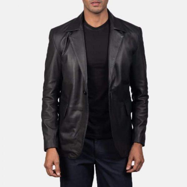 Daron Leather Blazer - MA Leathe