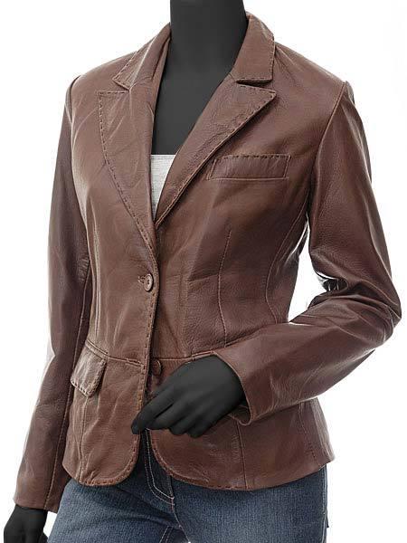 Brooks Women Brown Leather Blaz