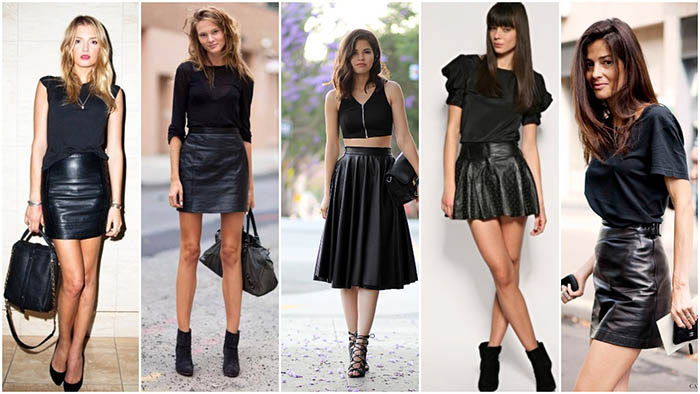 The Coolest Way To Wear Leather Skirts This Winter | MERA