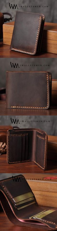 90 Best Men's Leather Wallets images in 2020 | Leather wallet mens .