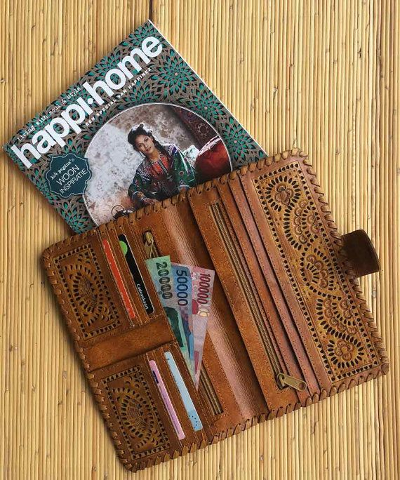 Leather wallet | Leather Purse | Leather clutch | women's leather .