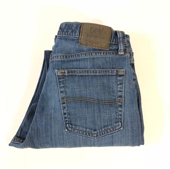 Lee Jeans | Mens Premium Classic Fit Straight Leg | Poshma