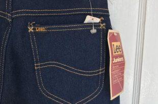 Vintage Lee jeans deadstok NWT dark wash Juniors Riders denim | Et