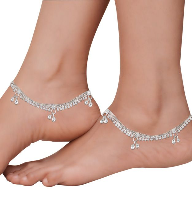 fashion anklets or payal for both women and girls, wide .