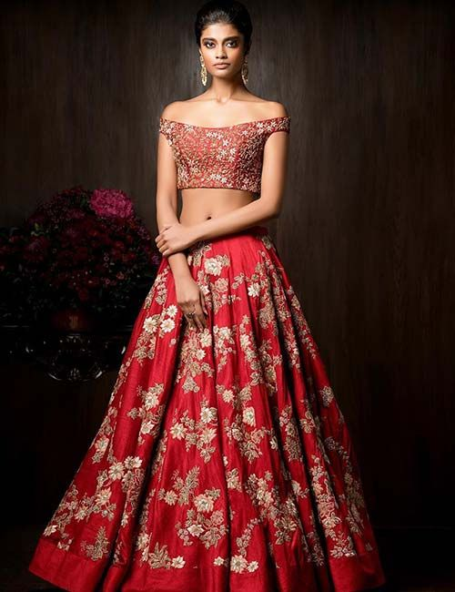 20 Latest Lehenga Blouse Designs (With images) | Designer bridal .