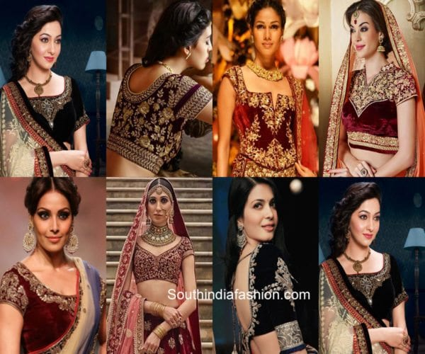 Latest Trending Bridal Lehenga Blouse Designs – South India Fashi