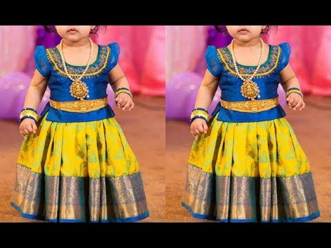 Latest Kids Lehenga Choli Designs 2019 - YouTu