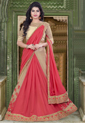 Contemporary - Lehenga Style - Indian Saree: Online Saree Shopping .