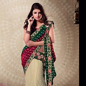 Amazon.com: Lehenga Sarees Designs For Indian Girls Vol 1 .