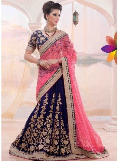 30 Mesmerizing Lehenga Saree Designs For A Desi Girl Look .