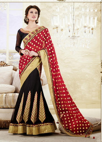 Fancy Lehenga Saree at Rs 1800/piece | Lehenga Sarees | ID .