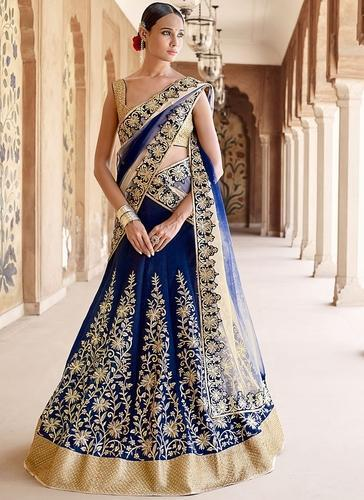 Party Wear Lehenga Saree at Rs 1900/piece(s) | Lehenga Sarees | ID .