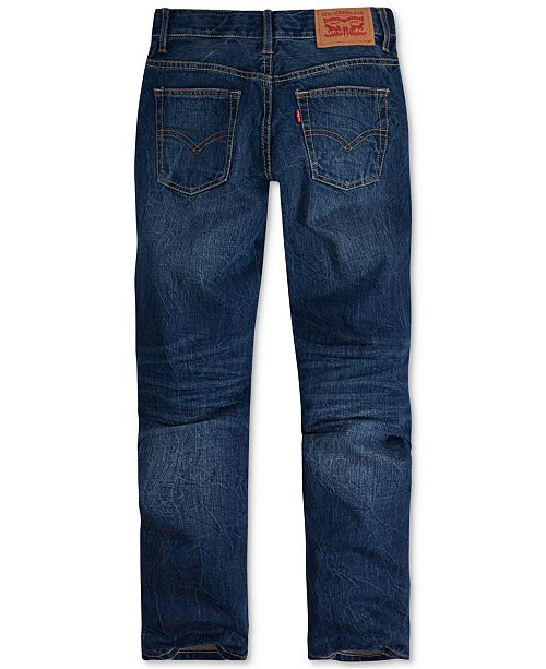 Levi's 502™ Regular Tapered Fit Jeans, Big Boys & Reviews - Jeans .