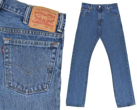 Vintage Levis 517 Jeans High Rise Levis Jeans Mens Levi 517 | Et