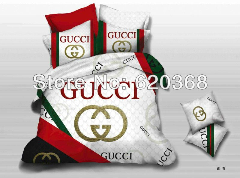 Fashion Brand LOGO Designer luxury comforter sets queen bed sheet .