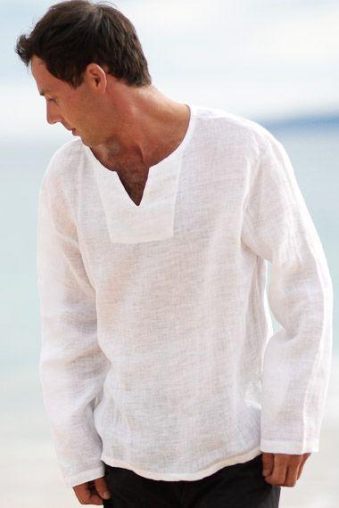 Gauze Lanai Shirt (With images) | Linen shirt men, Mens outfits .