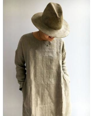 Can't Miss Deals on Natural Linen Tunic Tunic Top Plus Size Tunic .