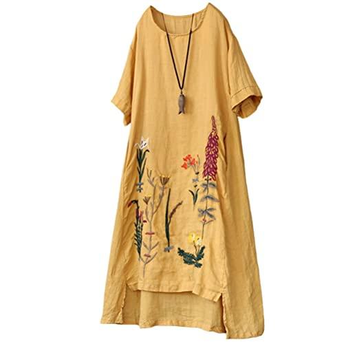 Women's Linen Tunics: Amazon.c