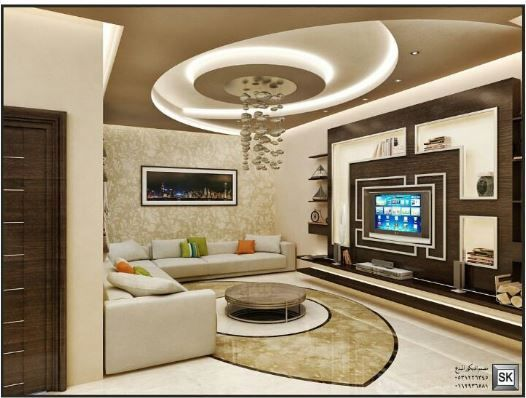 Pin by Rabia Izmirli on alçıpan (With images) | Ceiling design .