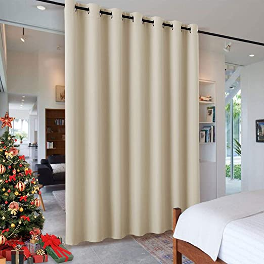 Amazon.com: RYB HOME Wall Divider Curtain for Living Room, Noise .